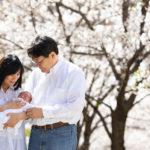 [ニューボーンフォトギャラリー]桜のロケーションフォトも撮りました^^[川崎]【2019.04.04】
